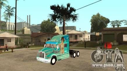 Peterbilt 387 piel 4 para GTA San Andreas