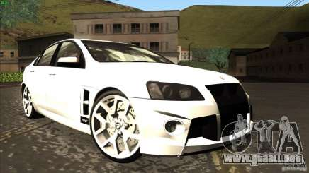 Holden HSV W427 para GTA San Andreas
