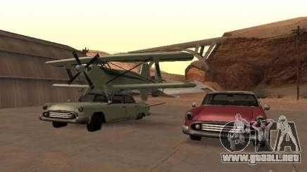 Auto-avión para GTA San Andreas