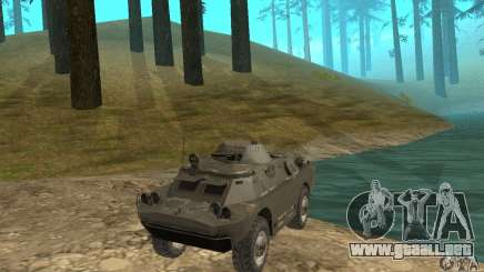 Versión de invierno BRDM-2 para GTA San Andreas