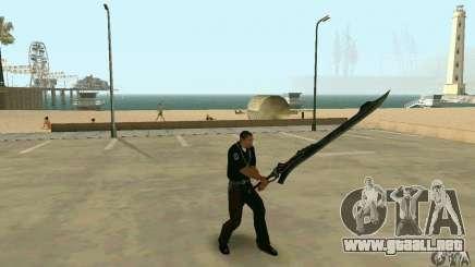 Espada de Nero en Devil May Cry 4 para GTA San Andreas