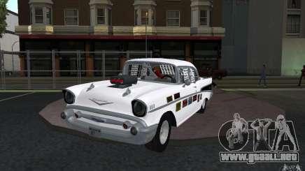 Chevrolet BelAir Bloodring Banger 1957 para GTA San Andreas
