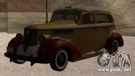 Shubert TAXI de MAFIA 2 para GTA San Andreas