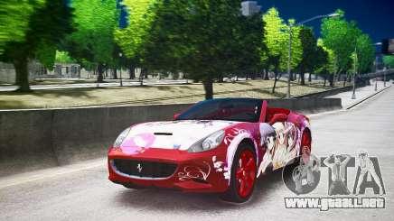 Ferrari California DC Texture para GTA 4