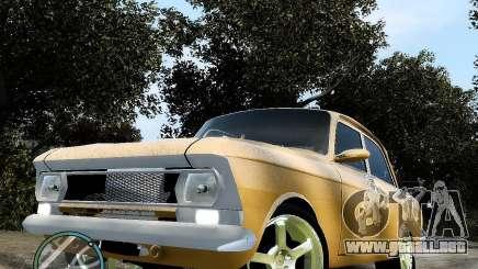 Moskvič 412 Street Racer [alfa] para GTA 4