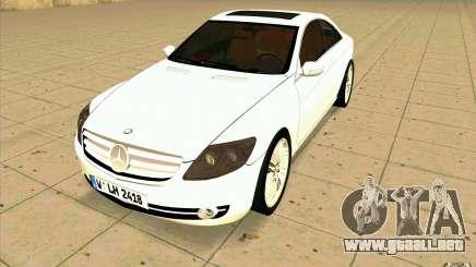 Mercedes Benz CL 500 para GTA San Andreas