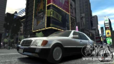 Mercedes-Benz 600SEL wheel2 tinted para GTA 4