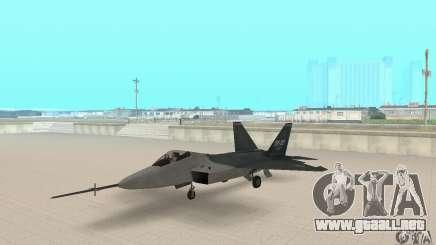 Y-f22 Lightning para GTA San Andreas