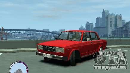 VAZ 2105 para GTA 4