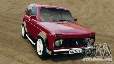 Vaz-21214 Niva (Lada 4 x 4) para GTA 4