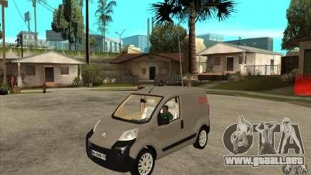 Citroen Nemo 2010 para GTA San Andreas