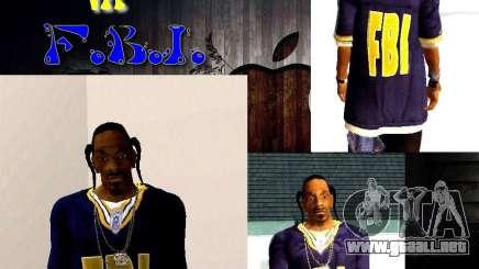 Snoop DoG del FBI. para GTA San Andreas
