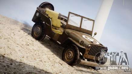 Jeep Willys [Final] para GTA 4