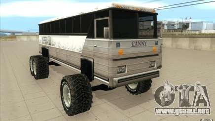 Bus monster [Beta] para GTA San Andreas