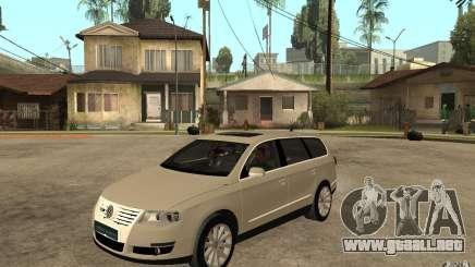 Volkswagen Passat Variant 2010 para GTA San Andreas