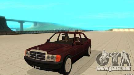 Mercedes-Benz 190 E (W201) 1984 version 1.0 para GTA San Andreas