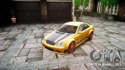 Mercedes Benz CLK63 AMG Black Series 2007 para GTA 4