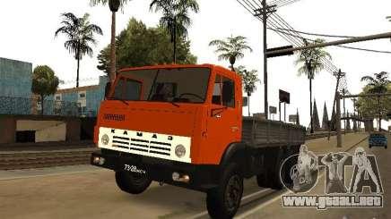 KAMAZ 5320 para GTA San Andreas