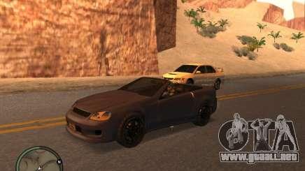 Feltzer de GTA 4 para GTA San Andreas