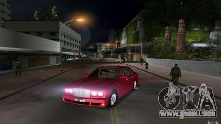 Bentley Arnage T 2005 para GTA Vice City
