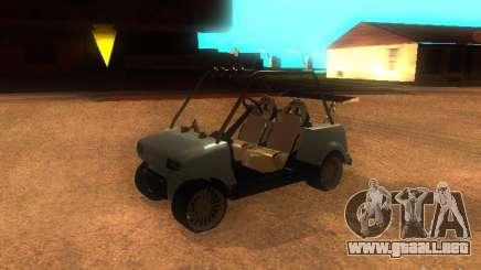 CARRITO restyling v1.0 para GTA San Andreas