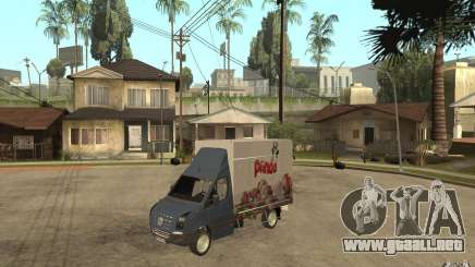 Volkswagen Crafter Ice Dream Box para GTA San Andreas