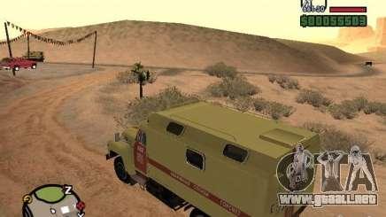 ZIL 130 Gorsvet de reloj de la noche para GTA San Andreas