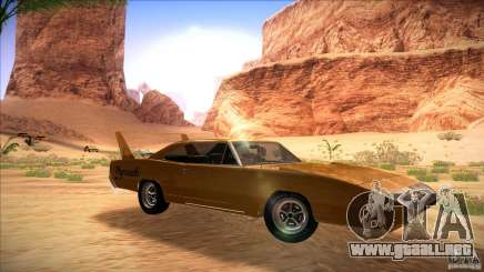 Plymouth Roadrunner Superbird Custom para GTA San Andreas