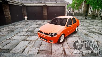 Fiat Albea Sole para GTA 4
