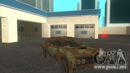 Ford Torino extreme rust 1970 para GTA San Andreas