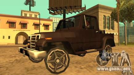 Mesa From Beta Version para GTA San Andreas