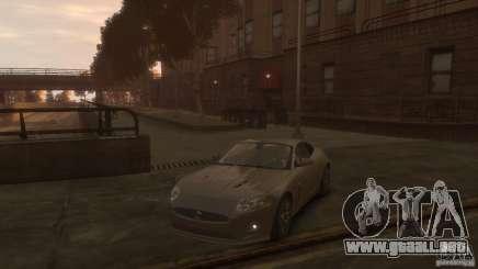Jaguar XK-R gris para GTA 4
