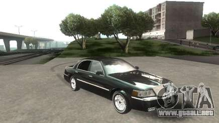Lincoln Town car sedan para GTA San Andreas