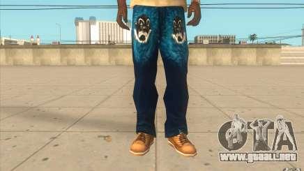 Remix-Evisu-Joker-Burberry Hose para GTA San Andreas