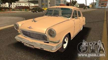 Taxi 21 Volga GAZ para GTA San Andreas