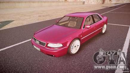 Audi A8 6.0 W12 Quattro (D2) 2002 para GTA 4
