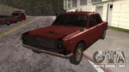 Volga Gaz M24-Rusty muerte para GTA San Andreas