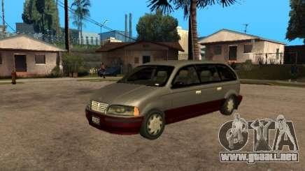 HD Blista para GTA San Andreas