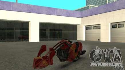 Nueva bicicleta de Star Wars para GTA San Andreas