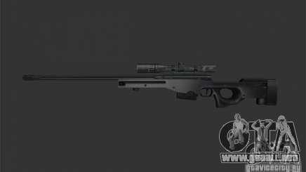 [Point Blank] L115A1 [Black] para GTA San Andreas