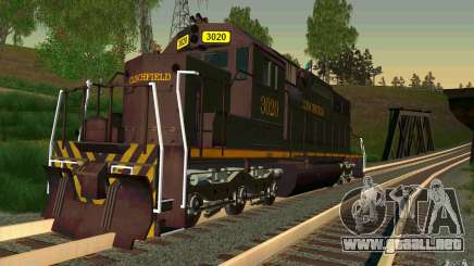 Clinchfield sd40 para GTA San Andreas