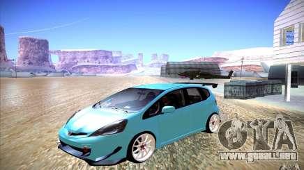 Honda Fit para GTA San Andreas