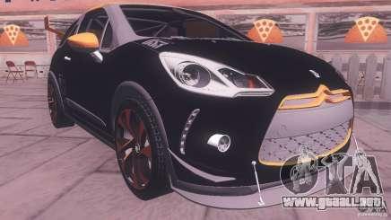 Citroen DS3 Tuning para GTA San Andreas