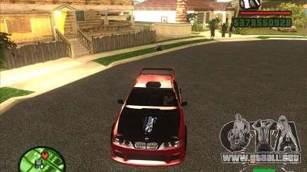 BMW 535 con otpadnym tuning para GTA San Andreas