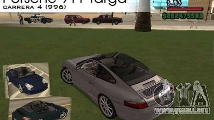 Porsche 911 TARGA para GTA San Andreas