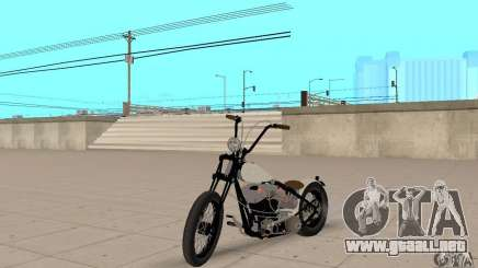 HD Shovelhead Chopper v2.1-mate para GTA San Andreas