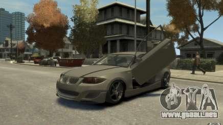 BMW 135i plata para GTA 4