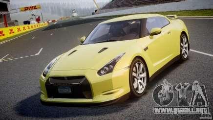Nissan GT-R R35 2010 v1.3 para GTA 4