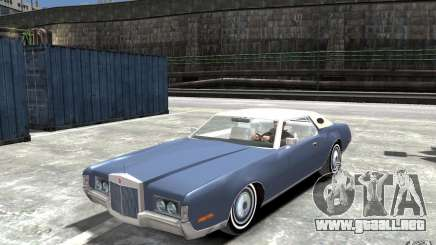 Lincoln Continental Mark IV 1972 para GTA 4