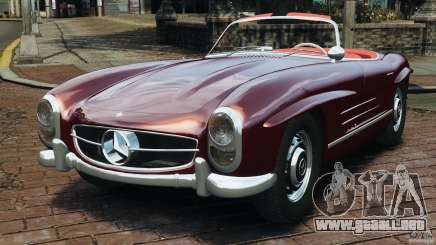 Mercedes-Benz 300 SL Roadster v1.0 para GTA 4